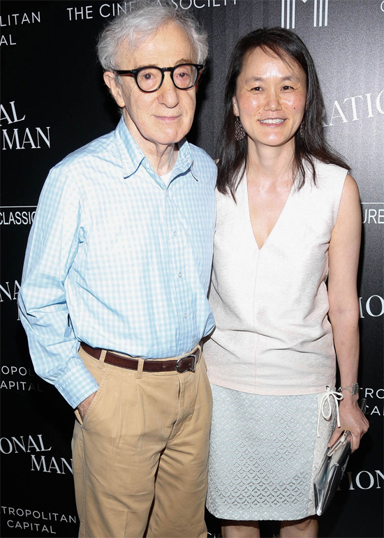 Woody Allen và Soon-Yi Previn. Ảnh: Filmmagic.