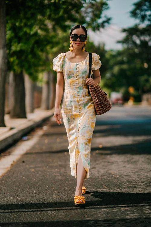 Đầm dáng dài mùa hè - 14