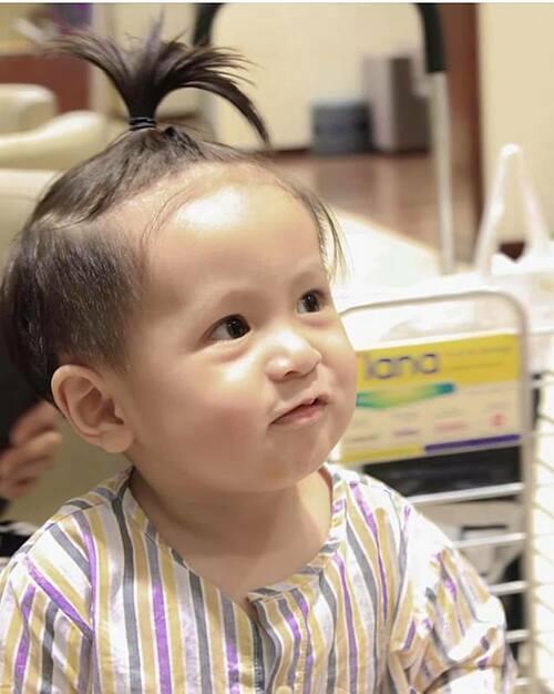 Khoảnh khắc đáng yêu của con trai út nhà đạo diễnĐức Thịnh - Thanh Thúy.