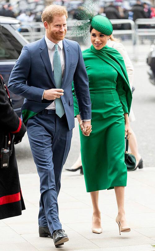 Harry và Meghan dự sự kiện cuối cùng hoàng gia hôm 9/3 trước khi từ chức. Ảnh: UK Press.