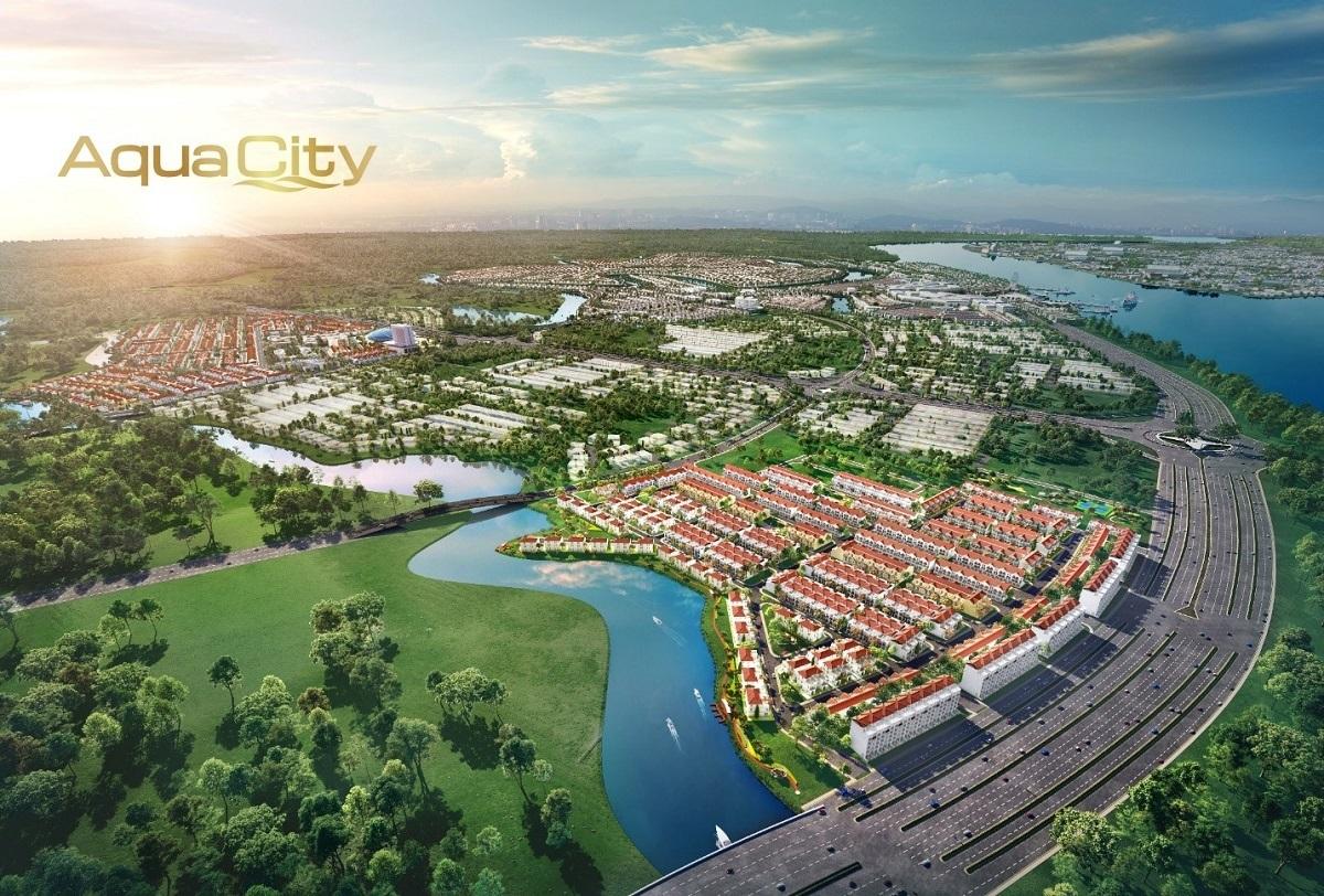 Phân khu River Park 1 thuộc Khu đô thị sinh thái thông minh Aqua City quy mô 1.000ha ở phía Đông TP HCM mang lại giá trị sống sinh thái đẳng cấp cho cư dân.