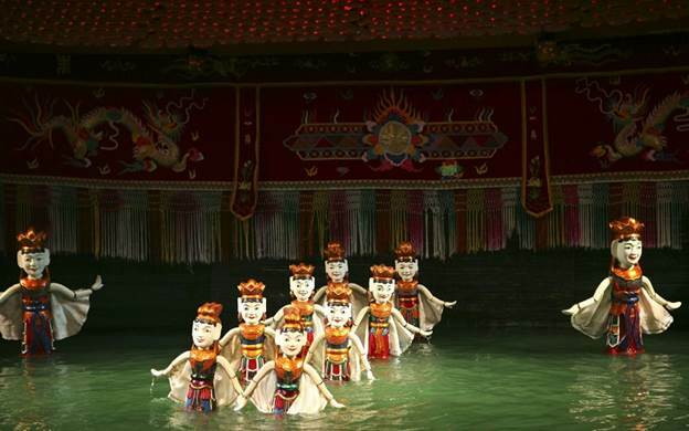 Nhà hát múa rối Việt Nam là điểm đến thú vị cho các bé nhân dịp 1/6.