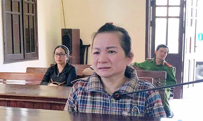 Bị cáo Phượng tại tòa. Ảnh: Văn Việt