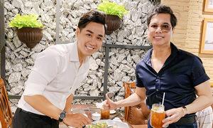 Dàn nghệ sĩ ủng hộ Nguyên Khang mở nhà hàng