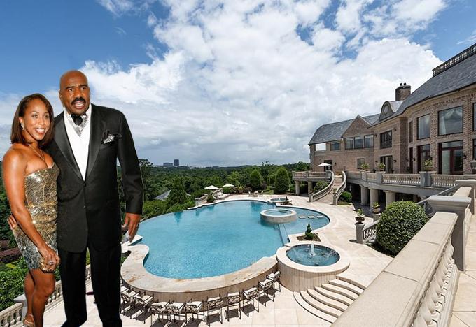 Danh hài 63 tuổi Steve Harvey sẽ chuyển đến biệt thự mới cùng người vợ thứ ba, Marjorie Elaine. Ông còn sở hữu nhiều ngôi nhà khác ở Chicago, Texas và Los Angeles.