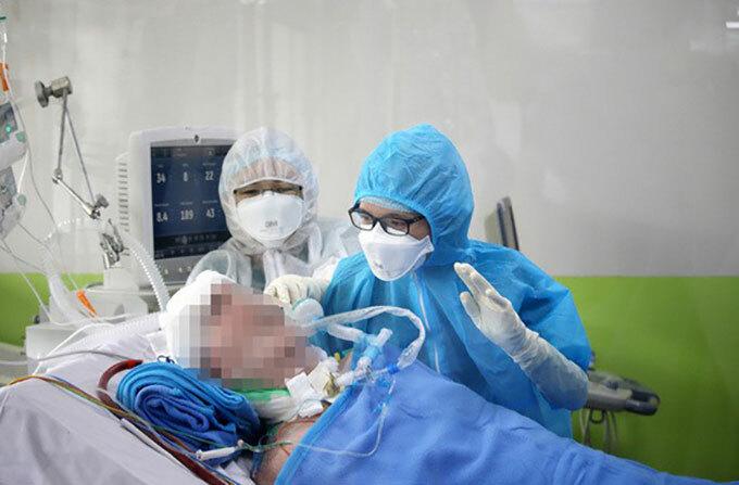 Bệnh nhân 91, phi công người Anh, được điều trị tạiBệnh viện Chợ Rẫy, TP HCM.