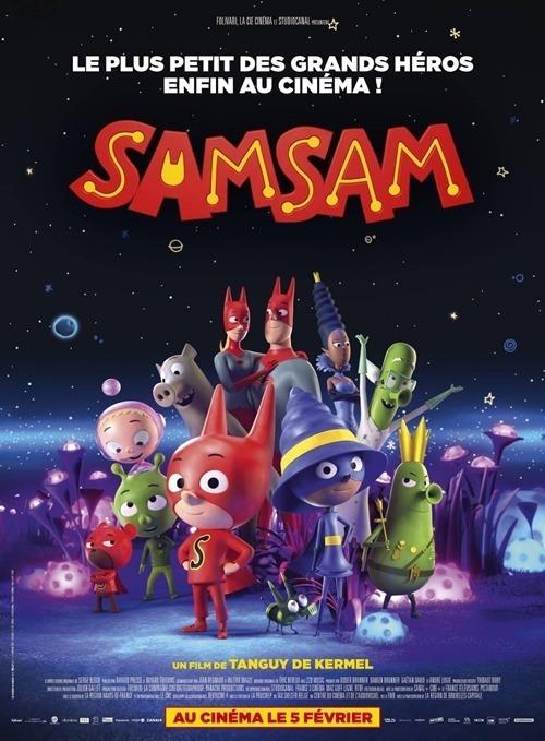SamSam: Siêu nhân tập sựxoay quanh nhân vật chính SamSam. SamSam có đĩa bay của riêng mình, sống vui vẻ bên gia đình và bạn bè. Cuộc sống của cậu bé gần như hoàn hảo, chỉ thiếu một điều là cậu chưa tìm được siêu năng lực thực sự của mình. Phim ra rạp từ 5/6/2020.