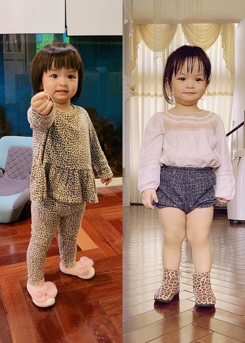 Phong cách thời trang đáng yêu của nhóc tỳ.