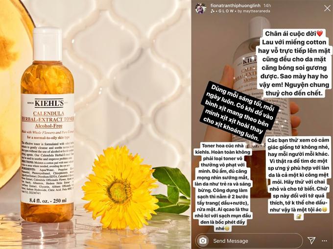 3 món mỹ phẩm ruột giúp Phương Linh giữ da căng mọng - 2