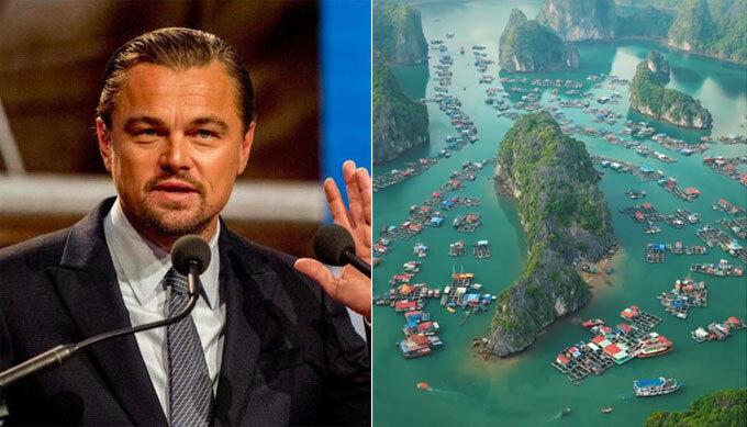 Leonardo kêu gọi du khách bảo vệ môi trường vịnh Lan Hạ.
