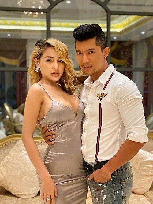 Lương Bằng Quang và bạn gái Ngân 98.