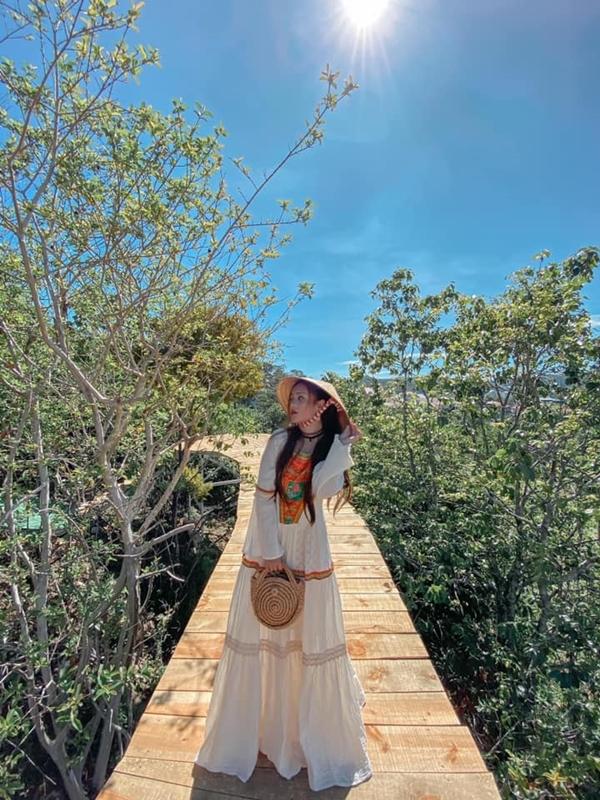 Cây cầu gỗ trên núi view đẹp Đà Lạt - 6