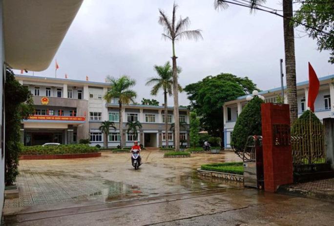 UBND thị xã Bỉm Sơn nơi ông Thọ công tác.