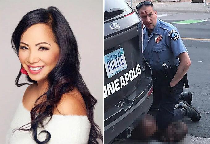 Kellie Chauvin đã ly hôn và không cần tiền của chồng - cảnh sát Derek Chauvin.