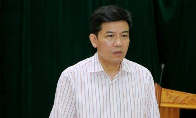 Ông Nguyễn Thái Hòa, Phó chủ tịch huyện Vũ Quang. Ảnh: V.Q