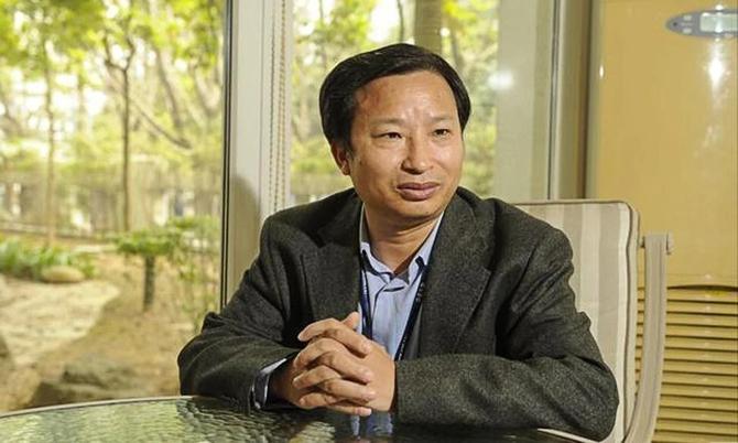 Tỷ phú Trung Quốc Du Weimin, Chủ tịch Công tysinh học Kangtai Thâm Quyến. Ảnh: SCMP.