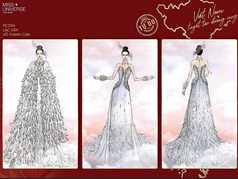 Áo bảo hộ Covid-19 được thiết kế thành trang phục dân tộc thi Miss Universe - 4