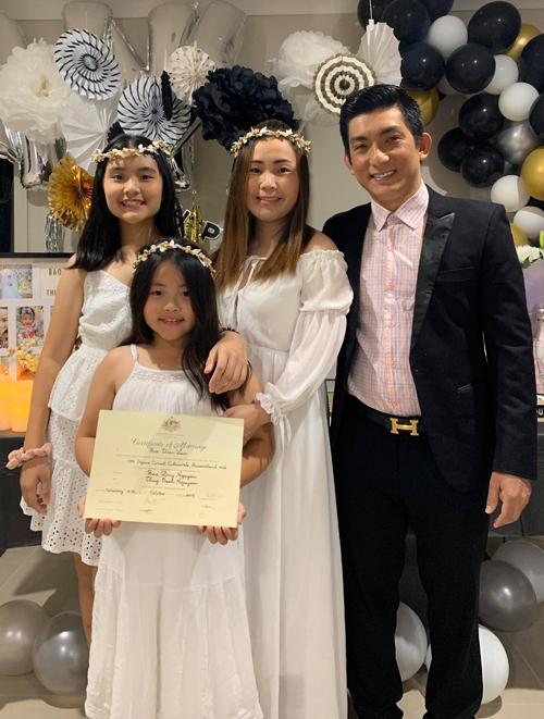 Sau khi sang Australia Bảo Duy mới đăng ký kết hôn với vợ ba dù cả hai tổ chứcđám cưới đình đám tại Việt Nam từ năm 2017.