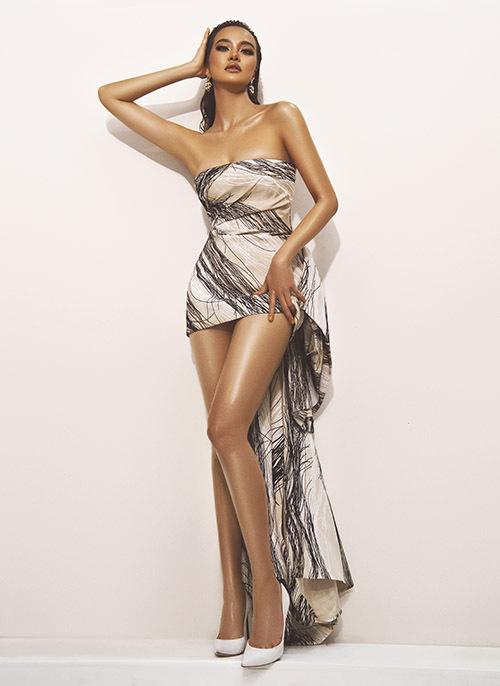 Kiều Ngân làm mới hình ảnh sau khi nhậm chức giám đốc kênh truyền hình quốc tế Fashion TV tại Việt Nam.