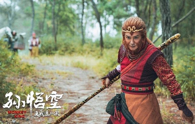 Trần Hạo Dân đóng vai Tôn Ngộ Không.