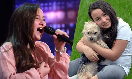 Cô bé 10 tuổi có giọng hát gây 'bão'