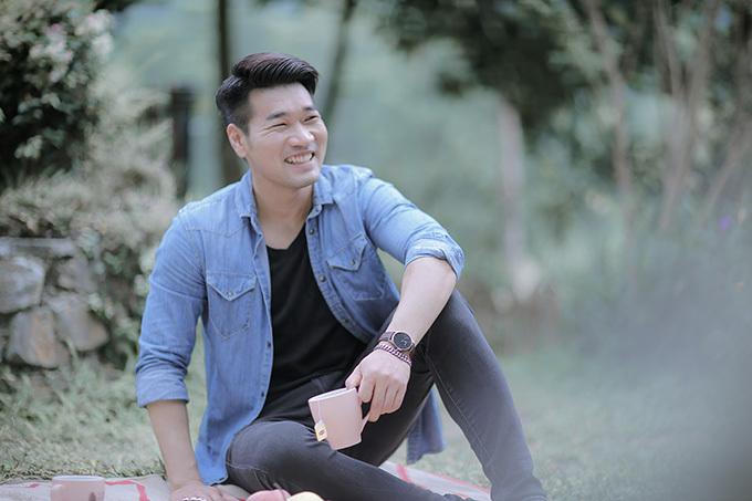 Tạ Quang Thắng trong MV mới.