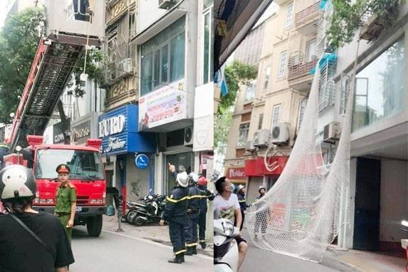 Công an dùng lưới bắt nghi phạm trốn trong nhà dân