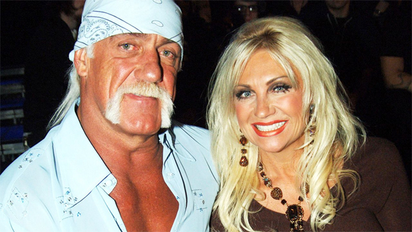 7. HULK AND LINDA HOGAN, WORTH £11M WWE legend Hulk Hogan, real-name Terry Bollea, married Linda Claridge in 1983. However, after she claimed he cheated on her with their daughters friend Christiane Plante they divorced in 2009, and a lengthy court battle ensued. In the settlement, she won 70 per cent of the couples liquid assets valued at around £7million. She also received 40 per cent ownership in his companies, as well as a £2million property settlement.