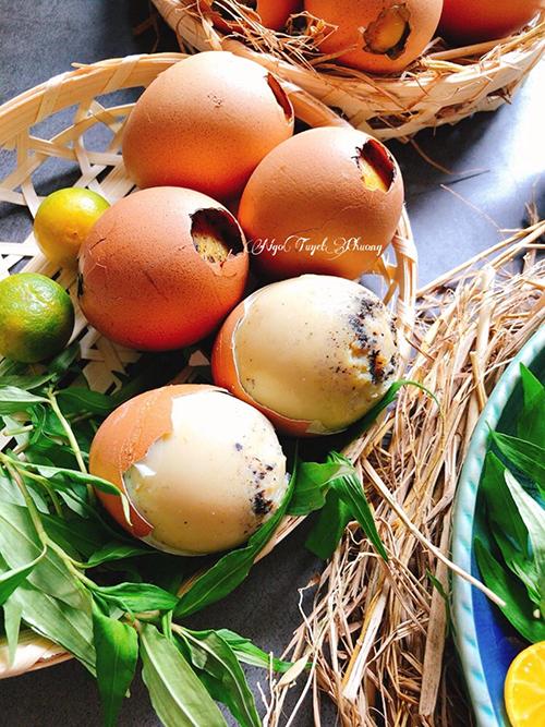 Trứng gà nướng - 2