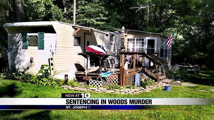 Khu đất ở bang Minnesota, nơi tìm thấy thi thể Christina Woods. Ảnh: WNDU.com.