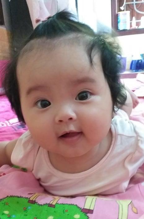 Bố bé Trần Phương Linh chia sẻ yêu con hơn bất cứ điều gì trên đời.