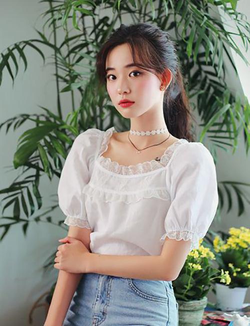 Áo blouse mùa hè - 2