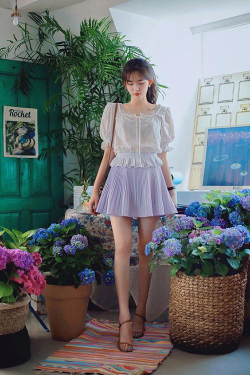 Áo blouse mùa hè - 14