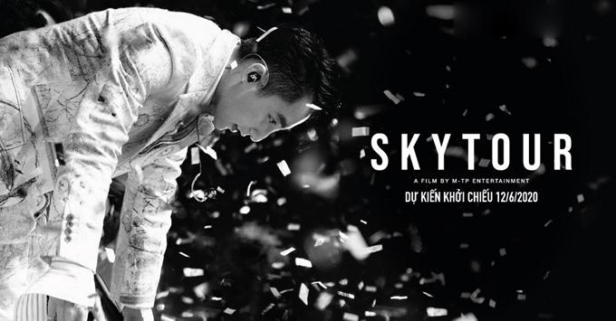 Loạt concert Sky Tour được tái hiện dưới dạng phim chiếu rạp.