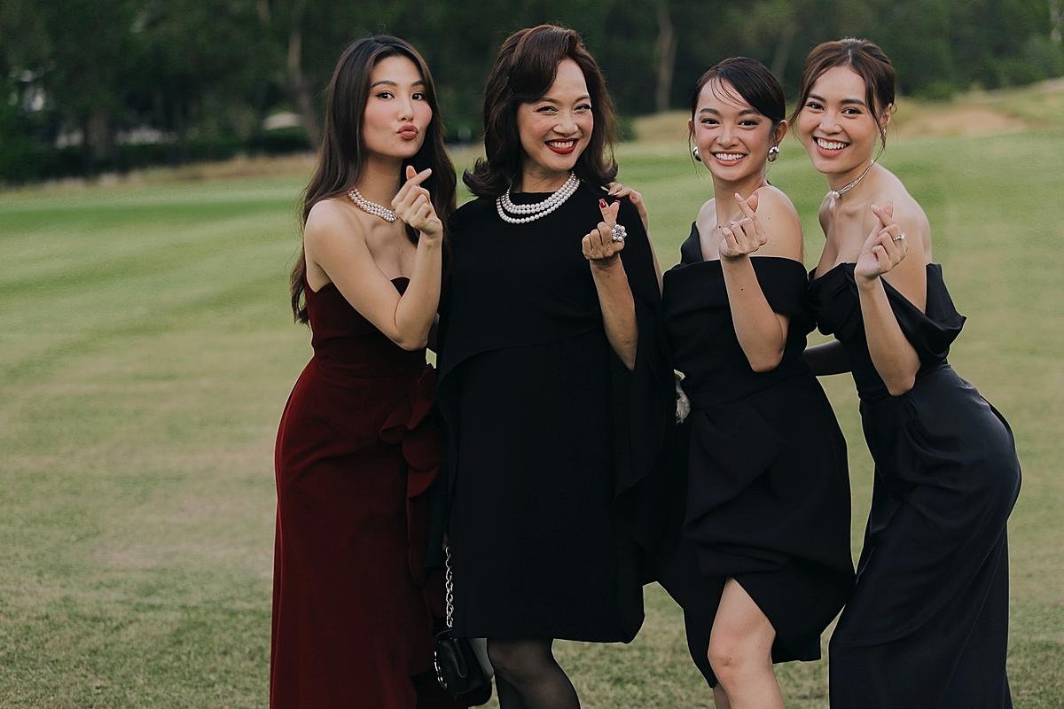 Diễn viên Lê Khanh,Kaity Nguyễn (thứ hai và ba từ trái qua) dành thời gian ra Huế dự sự kiện.Trong phần 3, NSND Lê Khanh đóng vai mẹ chồng tương lai của Ms.Q (Lan Ngọc) nhưng không muốn chấp nhận cô.