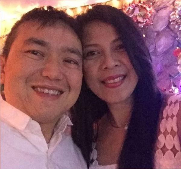 Bố mẹ của Alyssa hạnh phúc bên nhau trước khi bố cô qua đời. Ảnh: Facebook.