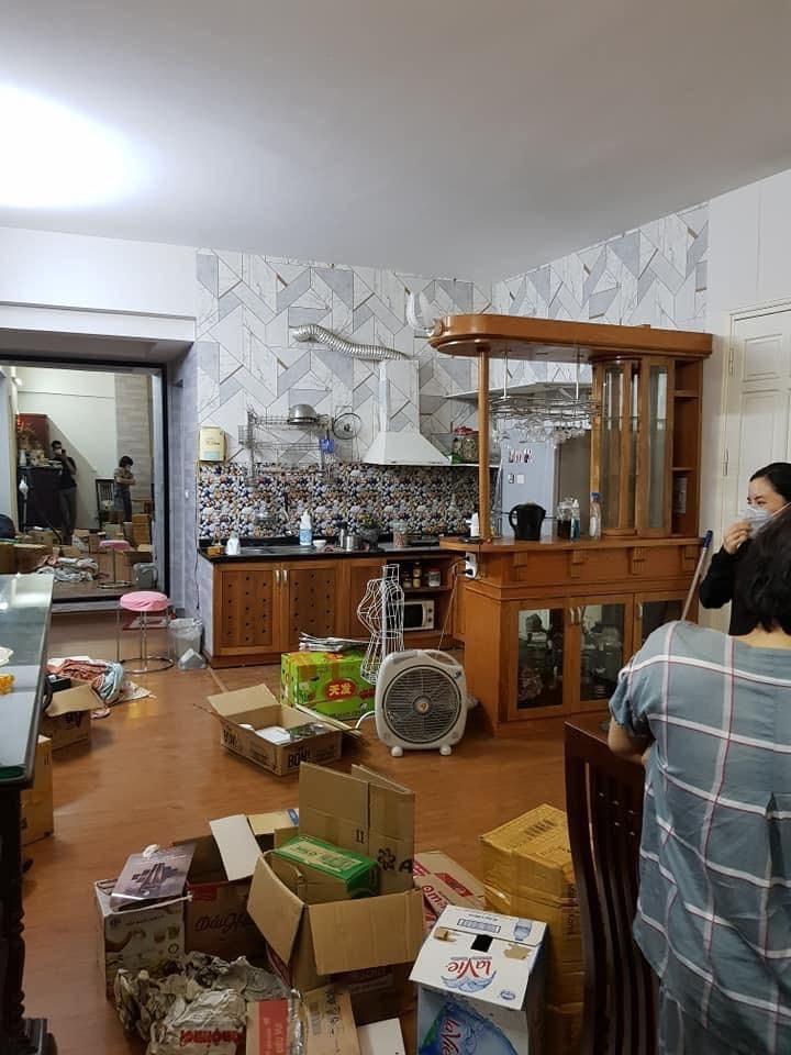 Khu bếp trước khi cải tạo...