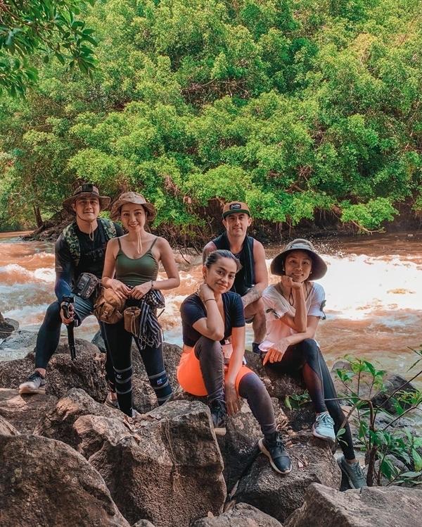 Băng Di và bạn trai doanh nhântrekking rừng Nam Cát Tiên - 17
