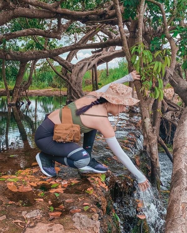 Băng Di và bạn trai doanh nhântrekking rừng Nam Cát Tiên - 13