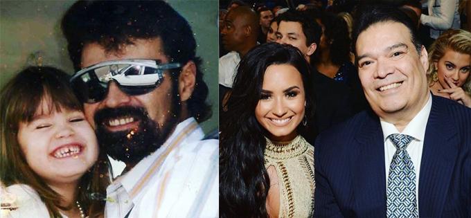 Ca sĩ Demi Lovato chia sẻ những bức ảnh kỷ niệm và gửi nỗi nhớ đến cha cô ở nơi thiên đường.