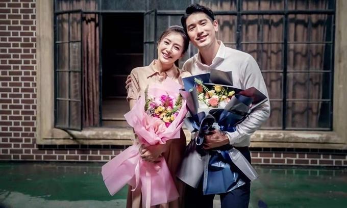 Tần Lam và Cao Dĩ Tường thân thiết sau khi phim đóng máy.