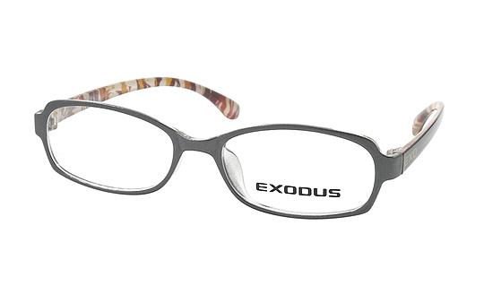 Gọng kính Exodus E104 (xám bông) chính hãng giá 400.000 đồng; làm từ chất liệu plastic và hợp kim Titanium; trọng lượng nhẹ, ôm sát gương mặt thoải mái; thiết kế dáng tròng bo cong thanh lịch và dễ mang.
