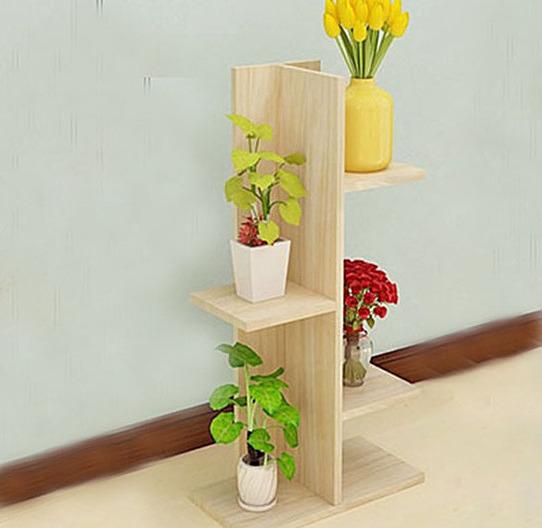 Kệ hoa trang trí 4 tầng vân gỗ gp02.13 351.000đ(-42%) Chất liệu: Nhựa Composite chống nước tuyệt đối, dễ dàng vệ sinh. Không phải mùn gỗ ép như các sản phẩm kém chất lượng sẽ có mùi hôi khó chịu của mùn gỗ.  Công năng: Giúp bạn sắp xếp lại đồ dùng gọn gàng, không gian sống tuyệt vời hơn. Bạn có thể đặt kệ trong phòng khách, phòng ngủ, phòng làm việc, tại shop, spa, trước nhà