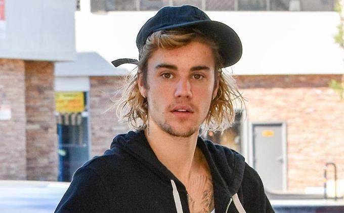 Ca sĩ Justin Bieber.