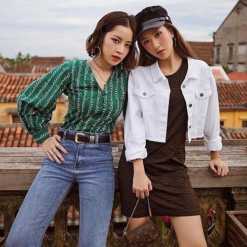 Chi Pu và Quỳnh Anh Shyn từng là chị em thân thiết trong showbiz Việt.