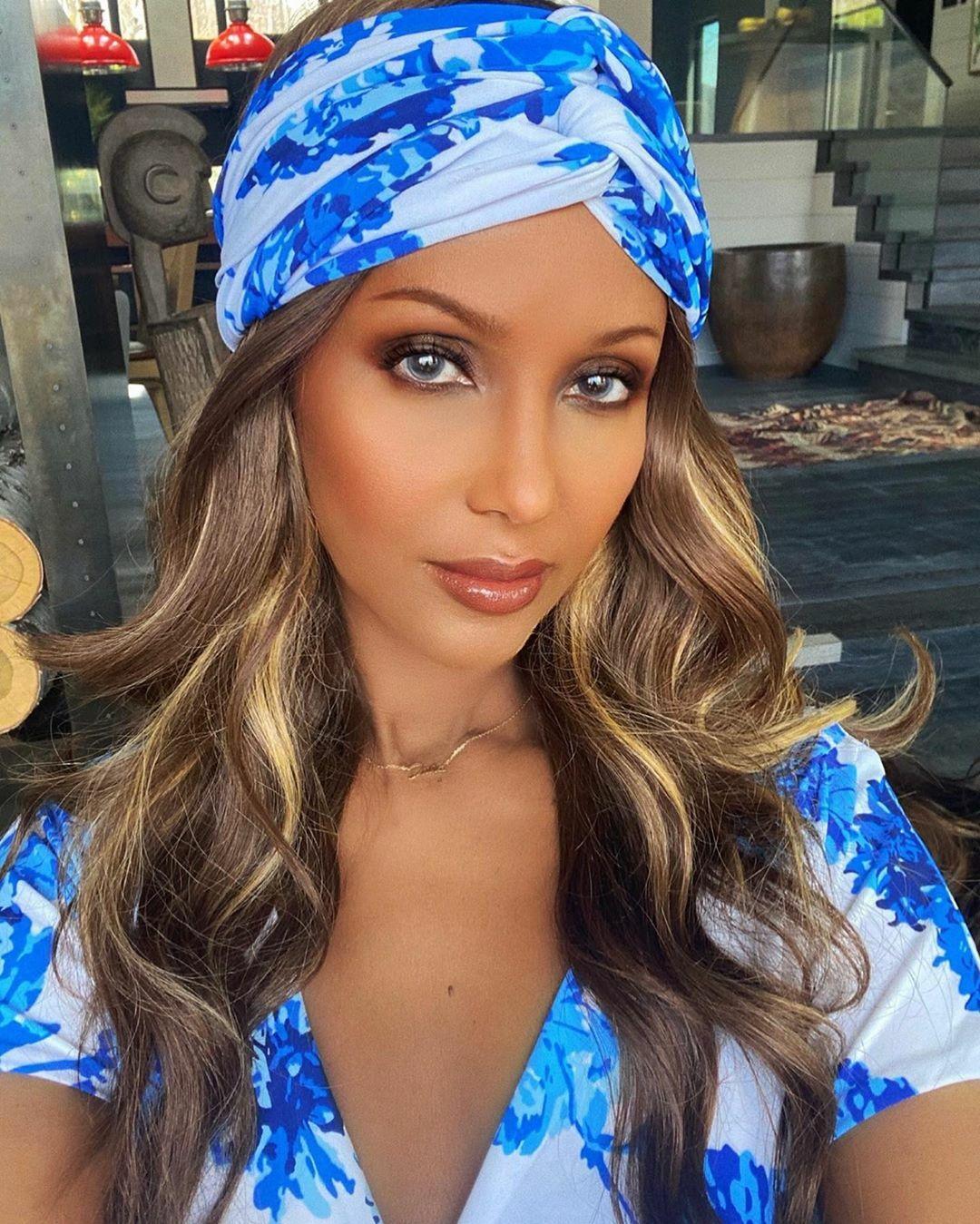 Người mẫu, diễn viên, doanh nhân người Somalia - Iman