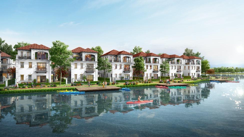 Số lượng hạn chế, bản sắc độc tôn cùng những giá trị đặc quyền riêng tư tạo sức hút cho các sản phẩm biệt thự tại Aqua City.