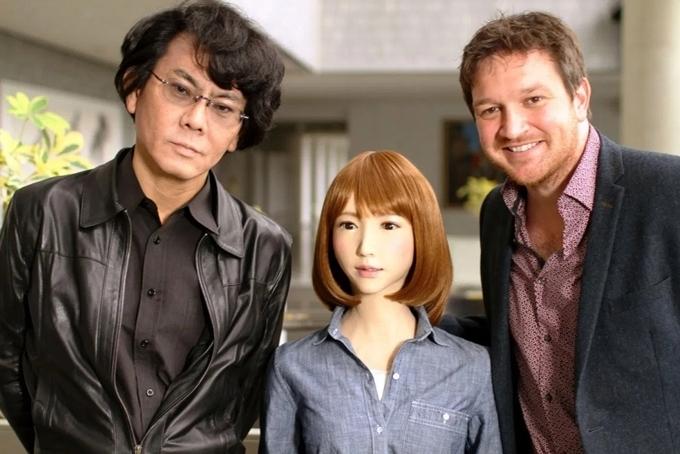 Robot Erica được giới thiệu trong phim tài liệu của Anh.