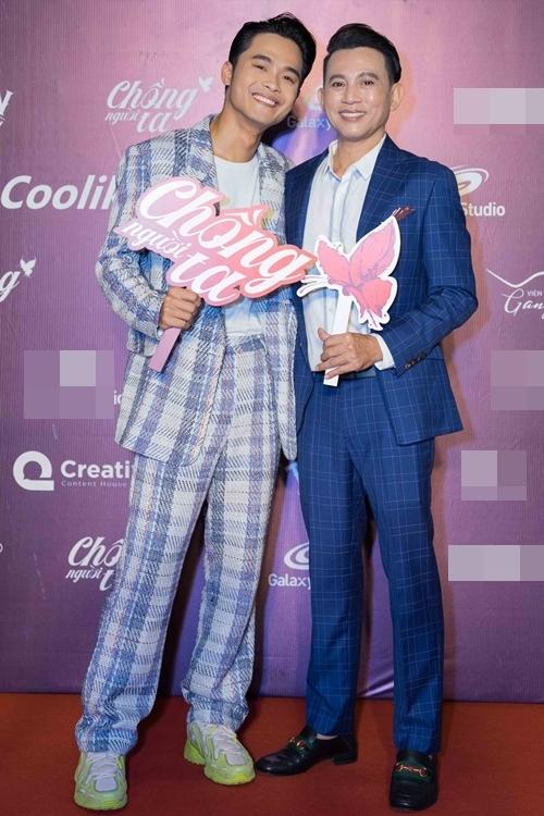 Diễn viên trẻ Huỳnh Thanh Trực ủng hộ người thầy Nguyễn Hữu Tiến bằng một vai khách mời trong phim.