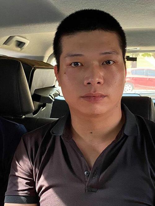 Nguyễn Khắc Hải - kẻ cướp tiệm vàng bỏ trốn. Ảnh: CACC.